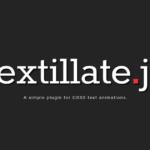 テキストのエフェクトやアニメーション(textillate.js)